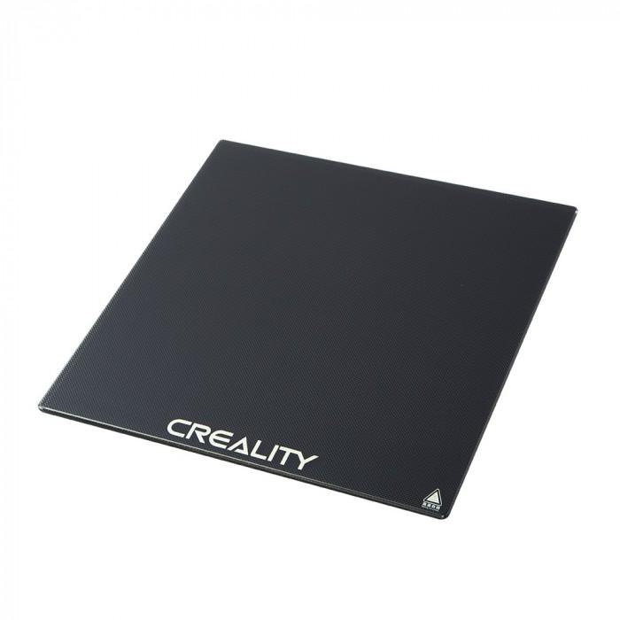 Suprafata din sticla Carborundum Creality pentru Ender-3/CR-10S/CR-X 310x310x4mm