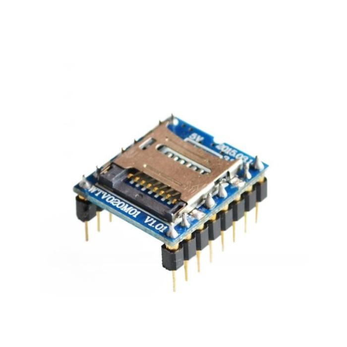 Mini SD Card audio player module