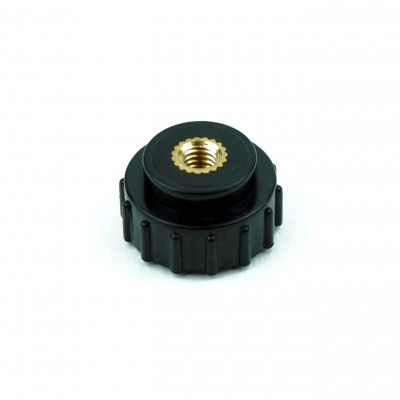 Plastic Covered Screw M4 Brass