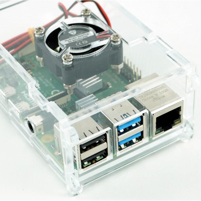 Carcasa Raspberry Pi 4 Model B