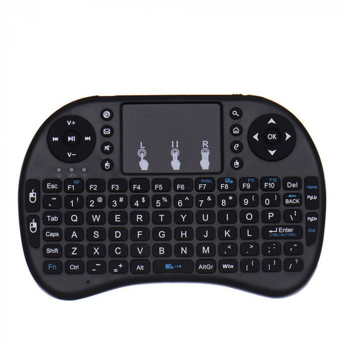 Raspberry Pi 3 Mini Keyboard 2.4G Wireless with Touchpad Mouse For Orange Pi ,PC, Android TV