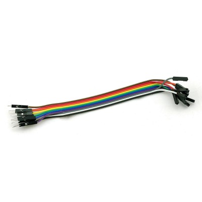 10 x Dupont wires male-female 10cm