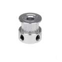 GT2 pulley for 5mm axis - 20 tooth