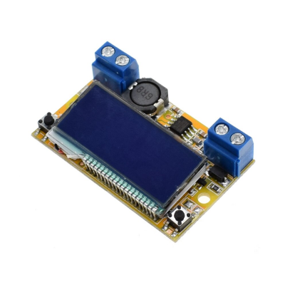 Step-down Power Supply Module 5-23V To 0-16.5V 3A with display