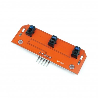 Line tracer module with 3 sensors