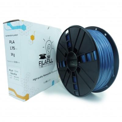 Filament PLA - PREMIUM - Galaxy Vertigo Albastru - 1Kg - 1.75mm