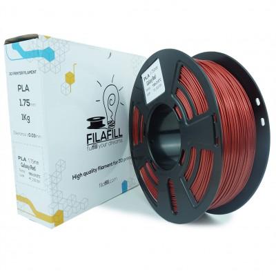 Filament PLA - PREMIUM - Galaxy Vertigo Rosu - 1Kg - 1.75mm