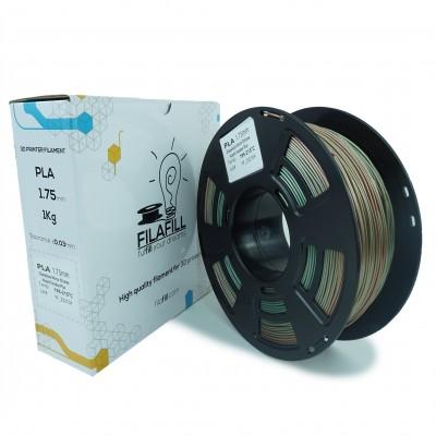 Filament PLA - PREMIUM - Mirror Chrome Chameleon Wizard Voodoo Plus- 1Kg - 1.75mm