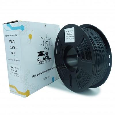Filament PLA+ - PREMIUM - Negru - 1Kg - 1.75mm