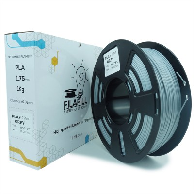 Filament PLA+ - PREMIUM - Gri - 1Kg - 1.75mm