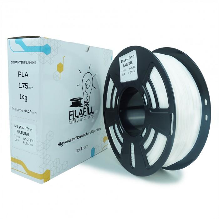 Filament PLA+ - PREMIUM - Natural - 1Kg - 1.75mm