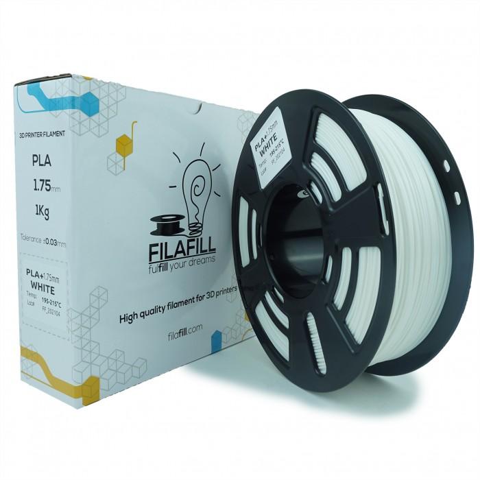 Filament PLA+ - PREMIUM - Alb - 1Kg - 1.75mm