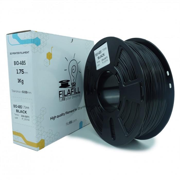 Filament BIO-ABS - PREMIUM - Negru - 1Kg - 1.75mm