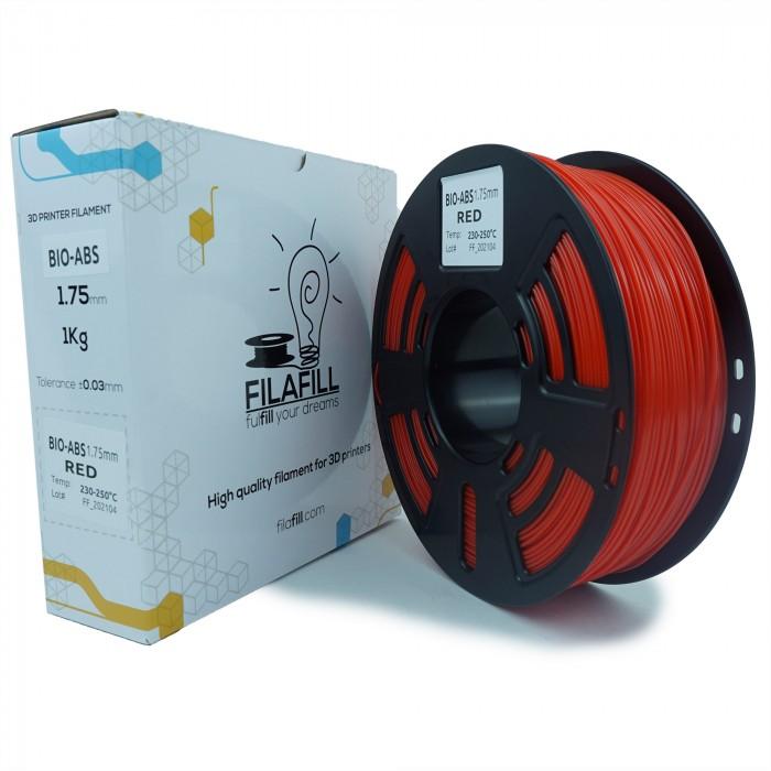 Filament BIO-ABS - PREMIUM - Rosu- 1Kg - 1.75mm