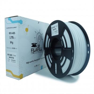 Filament BIO-ABS - PREMIUM - Alb - 1Kg - 1.75mm