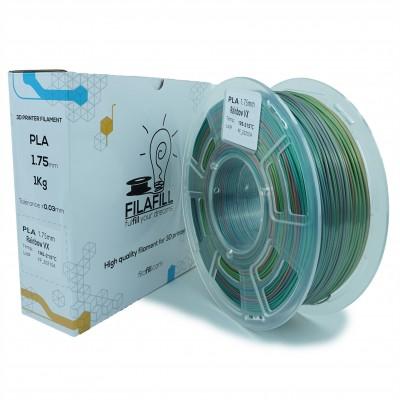 Filament PLA - PREMIUM - Rainbow vx - 1Kg - 1.75mm
