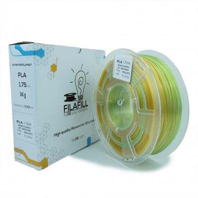 Filament PLA - PREMIUM - Mirror Chrome Auriu/Verde- 1Kg - 1.75mm