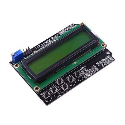 Shield LCD cu butoane 1602 Verde