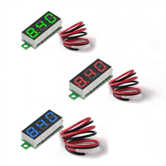 Digital voltmeter 2.7 - 30V
