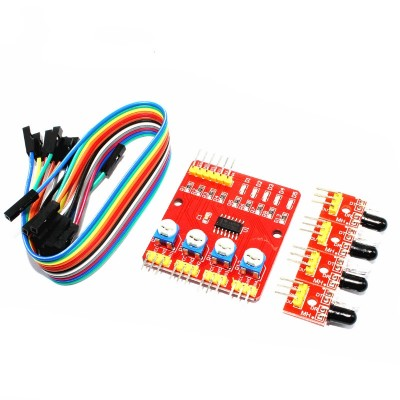 4 Channel Infrared Detector Tracing