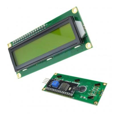 LCD 1602 verde + IIC