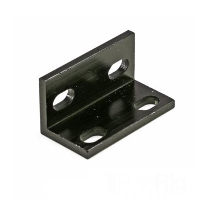 Conector tip L dublu - Negru