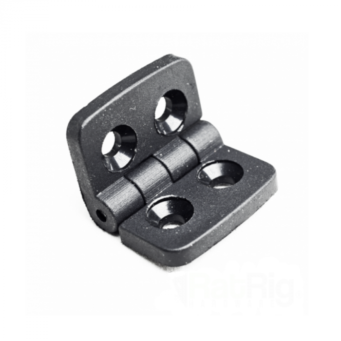 Hinge - Black thermoplastic - for 2020
