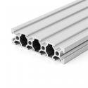 Profil aluminiu V-SLOT 2080 - Natural 1000mm