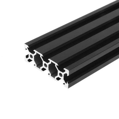 V-SLOT 2060 - Negru 1000mm