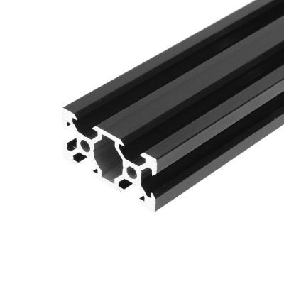 V-SLOT 2040 - Negru 1000mm