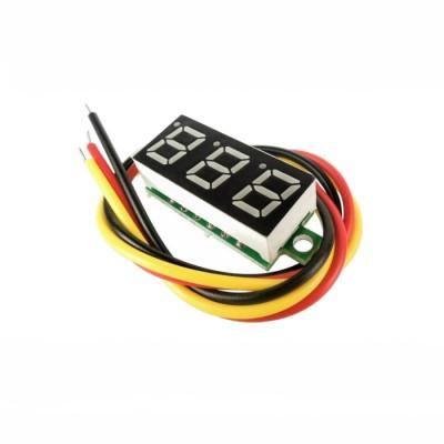 Digital voltmeter 2.7 - 100V
