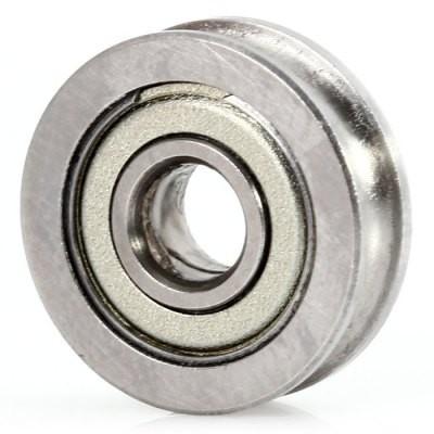 Filament pressing bearing - grooved - U604ZZ