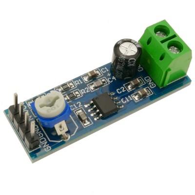 Audio amplifier module LM386