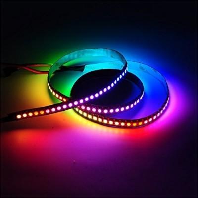 Leduri RGB la banda (Neopixels) WS2812B - pretul este pentru un led