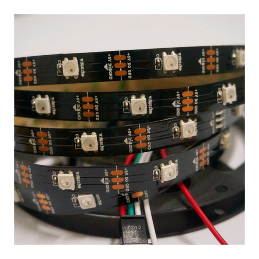 RGB led strip (Neopixels) WS2812B - ARDUSHOP