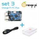 Orange PI PC Plus + carcasă + cablu alimentare