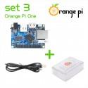Orange PI One + carcasă + cablu alimentare
