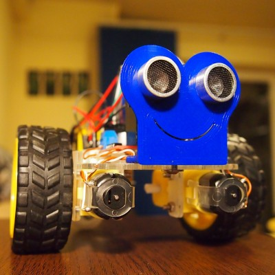 Robot ocolitor de obstacole - kit complet