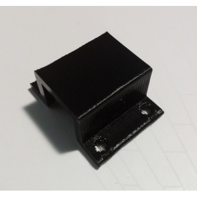 Printed support for geared micro-motor