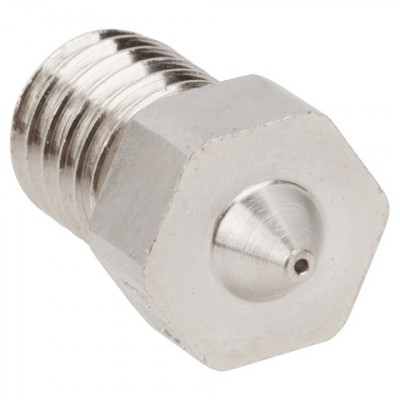 Hotend nozzle - stainless steel