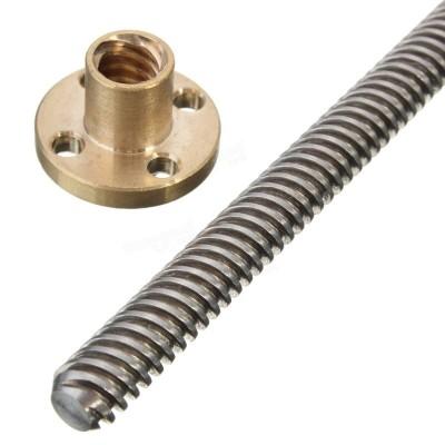 Leadscrew 8mm - 400mm