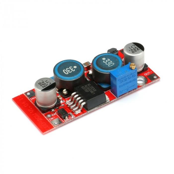 Modul ridicare/coborâre tensiune (boost-buck) 20W de la 5-32V la 1.2-35V