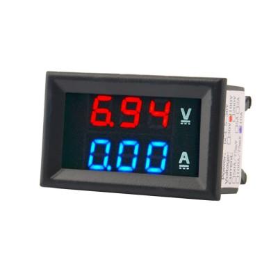 Panel voltmeter + ammeter