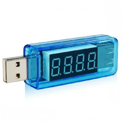 Voltmetru, ampermetru USB 3V-7V