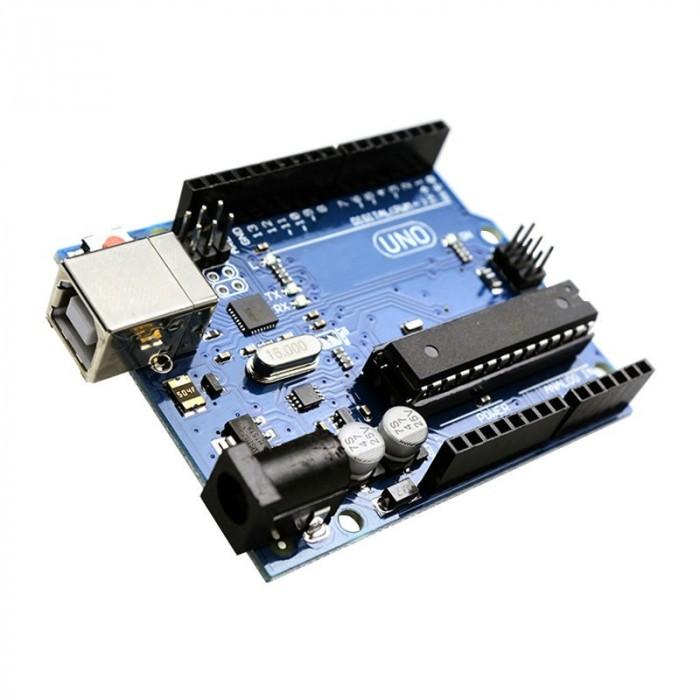 Development board UNO V3 Arduino compatible - DIP + cable