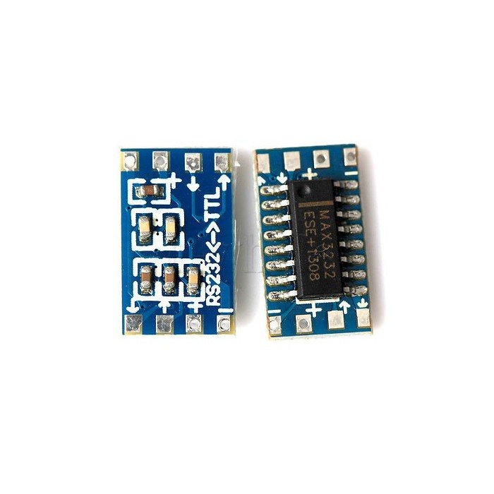 MCU mini RS232 MAX3232 level to TTL level converter board serial converter board module