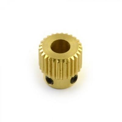 Roata dintata pentru extruder/impingator filament