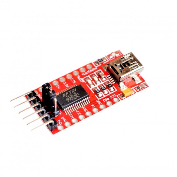 USB 2.0 to TTL UART on STC CP2120 (Arduino Pro Mini programmer)