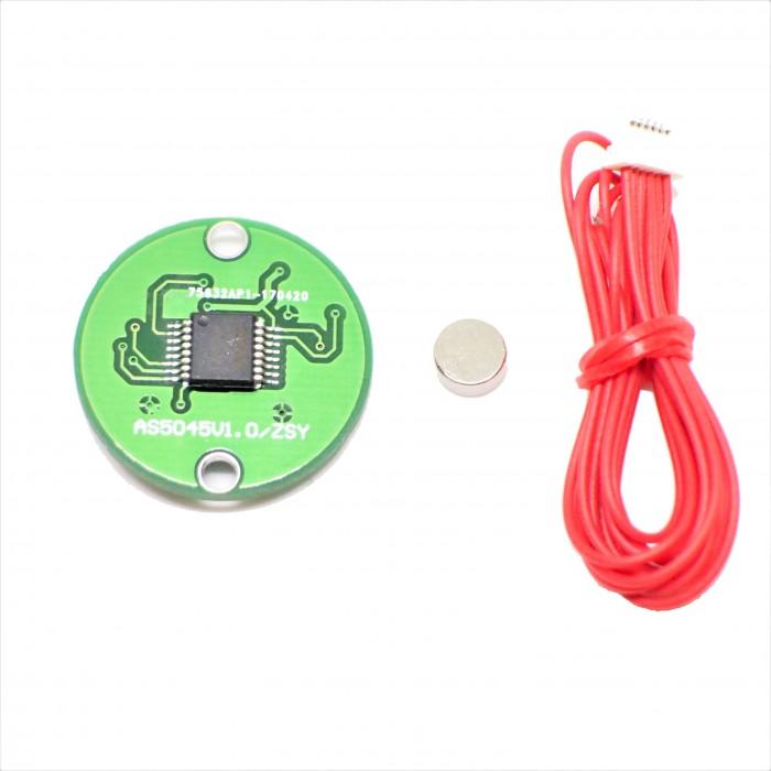 Contactless rotation sensor module